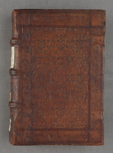 Sententiarum libri IV, cum commento Bonaventurae. P. IV.- Tabula Ioannis Beckenhaub