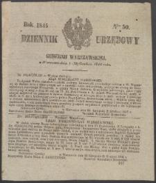 Dziennik Urzędowy Gubernii Warszawskiej, 1845 (R.1), nr 50