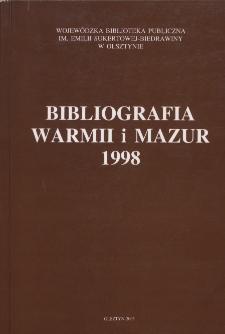 Bibliografia Warmii i Mazur 1998