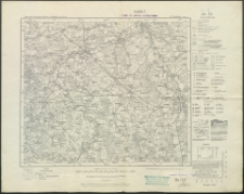 Friedland. Karte des Deutschen Reiches. 75