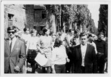 Uczestnicy zorganizowanej wycieczki Zakopane-Oświęcim