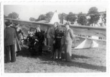 [Wystawa lotnicza na lotnisku w Dajtkach (Olsztyn) w 1947 r. 1]