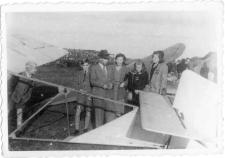 [Wystawa lotnicza na lotnisku w Dajtkach (Olsztyn) w 1947 r. 2]