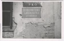 [Budynek Gromadzkiej Biblioteki Publicznej w Łankiejmach]
