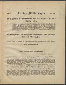 Amtliche Mittheilungen des Königlichen Konsistoriums der Provinzen Ost-und Westpreußen zu Königsberg i[n] Ostpr., 1884, Stück 8