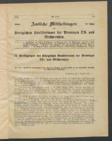 Amtliche Mittheilungen des Königlichen Konsistoriums der Provinzen Ost-und Westpreußen zu Königsberg i[n] Ostpr., 1884, Stück 9