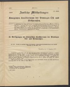Amtliche Mittheilungen des Königlichen Konsistoriums der Provinzen Ost-und Westpreußen zu Königsberg i[n] Ostpr., 1885, Stück 2