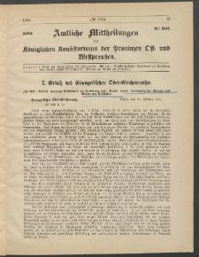 Amtliche Mittheilungen des Königlichen Konsistoriums der Provinzen Ost-und Westpreußen zu Königsberg i[n] Ostpr., 1885, Stück 4
