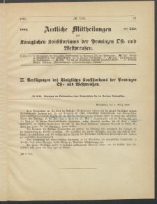 Amtliche Mittheilungen des Königlichen Konsistoriums der Provinzen Ost-und Westpreußen zu Königsberg i[n] Ostpr., 1885, Stück 5