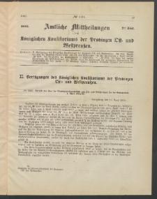 Amtliche Mittheilungen des Königlichen Konsistoriums der Provinzen Ost-und Westpreußen zu Königsberg i[n] Ostpr., 1885, Stück 7