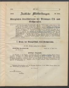 Amtliche Mittheilungen des Königlichen Konsistoriums der Provinzen Ost-und Westpreußen zu Königsberg i[n] Ostpr., 1885, Stück 8
