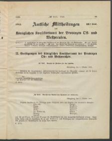 Amtliche Mittheilungen des Königlichen Konsistoriums der Provinzen Ost-und Westpreußen zu Königsberg i[n] Ostpr., 1885, Stück 13