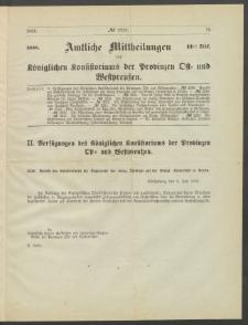 Amtliche Mittheilungen des Königlichen Konsistoriums der Provinzen Ost-und Westpreußen zu Königsberg i[n] Ostpr., 1886, Stück 11