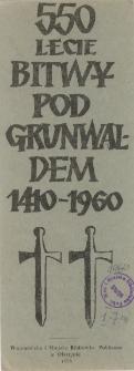 550-lecie Bitwy pod Grunwaldem 1410-1960