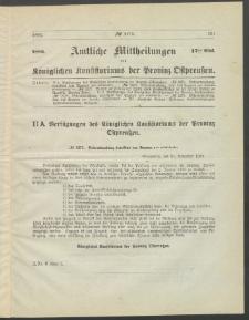 Amtliche Mittheilungen des Königlichen Konsistoriums der Provinz Ostpreußen., 1886, Stück 17