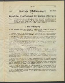 Amtliche Mittheilungen des Königlichen Konsistoriums der Provinz Ostpreußen., 1886, Stück 18
