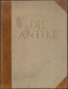 Die Antike : Zeitschrift für Kunst und Kultur des klassischen Altertums, 1926 Bd. 2