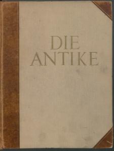 Die Antike : Zeitschrift für Kunst und Kultur des klassischen Altertums, 1927 Bd. 3
