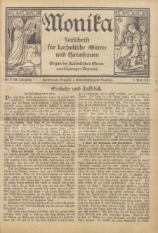 Monika : Zeitschrift für katholische Mütter und Hausfrauen, 1931 Jg. 63, Nr. 9