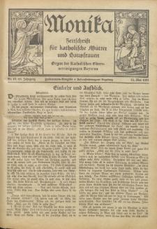 Monika : Zeitschrift für katholische Mütter und Hausfrauen, 1931 Jg. 63, Nr. 10