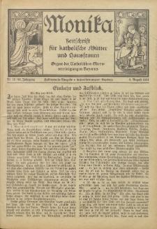 Monika : Zeitschrift für katholische Mütter und Hausfrauen, 1931 Jg. 63, Nr. 15