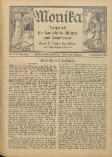 Monika : Zeitschrift für katholische Mütter und Hausfrauen, 1931 Jg. 63, Nr. 18