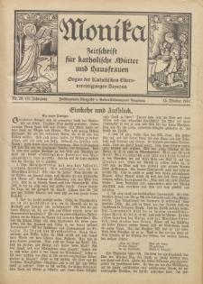 Monika : Zeitschrift für katholische Mütter und Hausfrauen, 1931 Jg. 63, Nr. 20