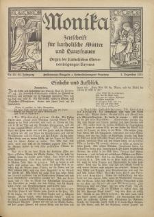 Monika : Zeitschrift für katholische Mütter und Hausfrauen, 1931 Jg. 63, Nr. 23