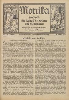 Monika : Zeitschrift für katholische Mütter und Hausfrauen, 1932 Jg. 64, Nr. 4