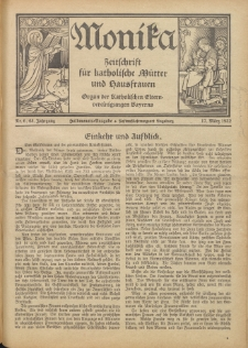 Monika : Zeitschrift für katholische Mütter und Hausfrauen, 1932 Jg. 64, Nr. 6