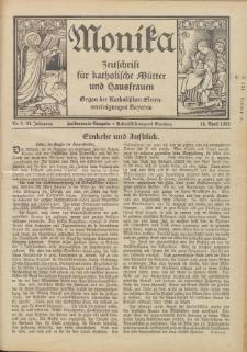 Monika : Zeitschrift für katholische Mütter und Hausfrauen, 1932 Jg. 64, Nr. 8