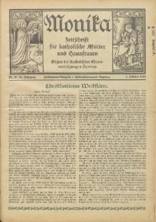 Monika : Zeitschrift für katholische Mütter und Hausfrauen, 1932 Jg. 64, Nr. 19