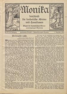 Monika : Zeitschrift für katholische Mütter und Hausfrauen, 1932 Jg. 64, Nr. 23