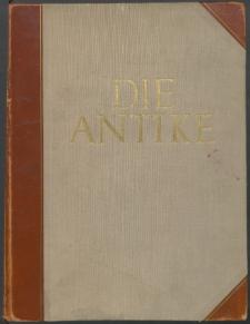Die Antike : Zeitschrift für Kunst und Kultur des klassischen Altertums, 1928 Bd. 4