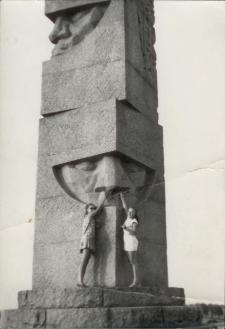 [Pomnik Zwycięstwa Grunwaldzkiego - granitowy obelisk]