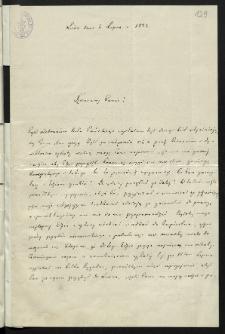 [List Wojciecha Kętrzyńskiego do Józefa Tatomira]