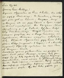 [Listy Wojciecha Kętrzyńskiego do Ludwika Bernackiego]