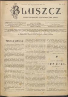 Bluszcz : pismo tygodniowe ilustrowane dla kobiet, 1907 R. 43, nr 4