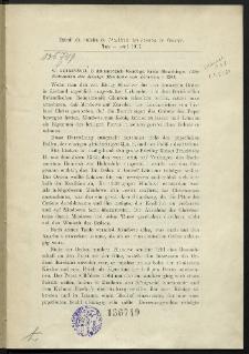 O dokumentach Mendoga króla litewskiego = (Urkunden des Königs Mindowe von Litauen +1263)