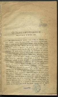 O Jabłonowskich herbu Prus III
