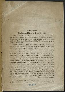 Urkundenfund. Handfeste von Wysoka in Westpreussen 1352