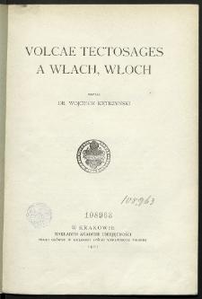 Volcae Tectosages a Włach, Włoch