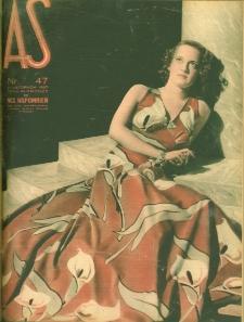 As : ilustrowany magazyn tygodniowy, 1937 (R. 3), nr 47