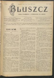 Bluszcz : pismo tygodniowe ilustrowane dla kobiet, 1907 R. 43, nr 11