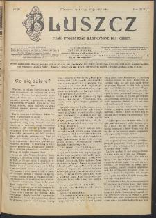 Bluszcz : pismo tygodniowe ilustrowane dla kobiet, 1907 R. 43, nr 20