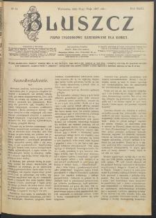Bluszcz : pismo tygodniowe ilustrowane dla kobiet, 1907 R. 43, nr 21