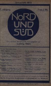 Nord und Süd : eine deutsche Monatsschrift, 1913 Jg. 37, Bd. 144, Heft 460