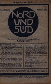Nord und Süd : eine deutsche Monatsschrift, 1917 Jg. 41, Bd. 150, Heft 509