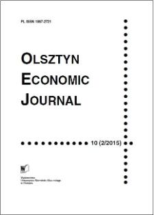 Olsztyn Economic Journal 10 (2/2015), 2015