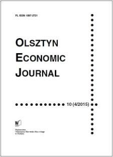 Olsztyn Economic Journal 10 (4/2015), 2015